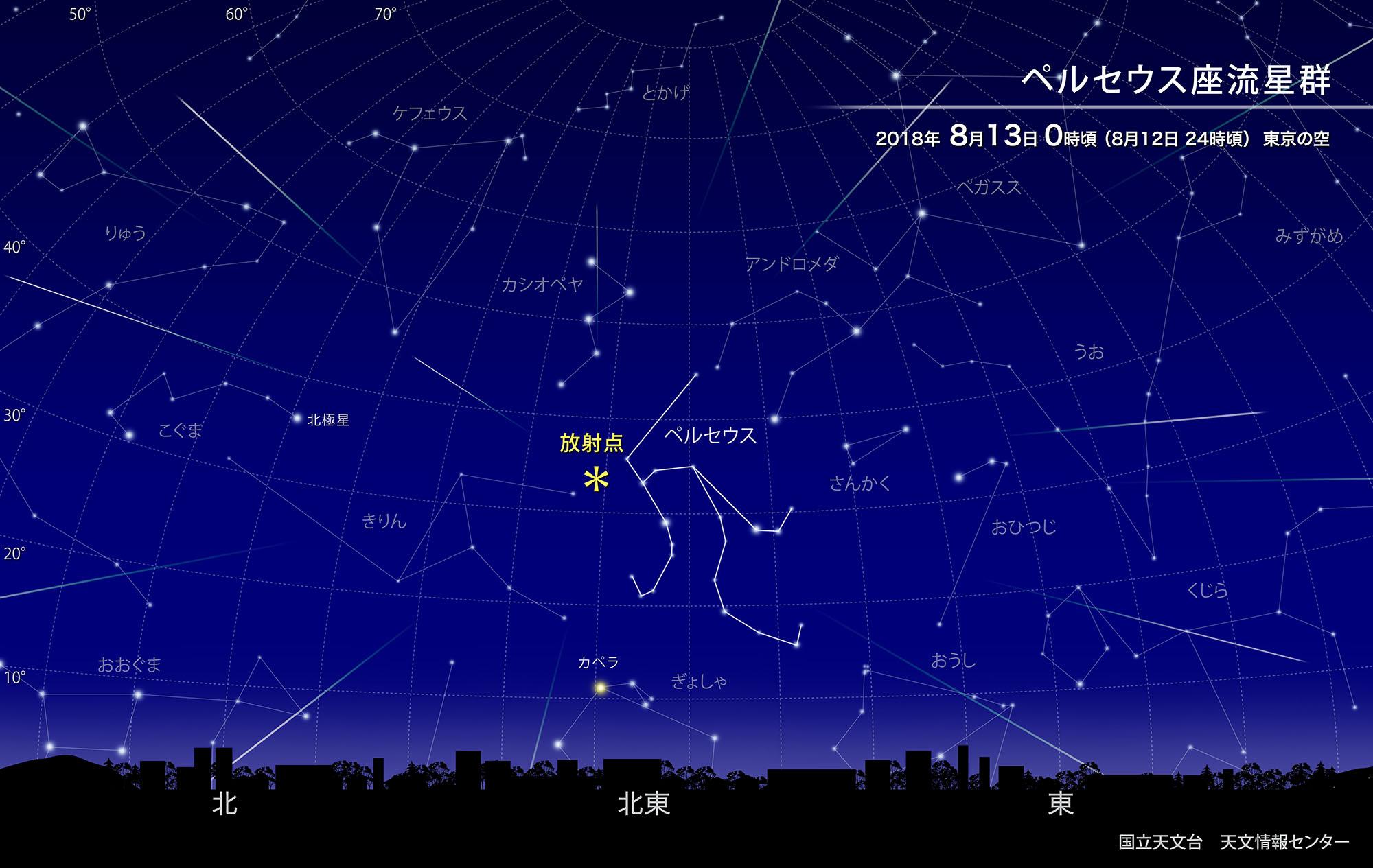 ペルセウス座流星群|【公式】ニ...